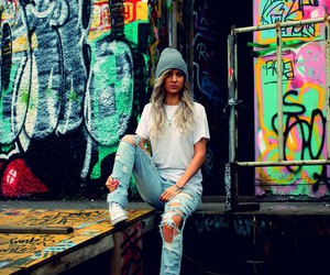 graffit, outfit, and streetstyle image