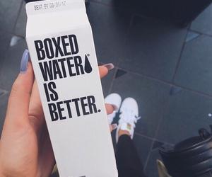 adidas, boxed water, and nails image