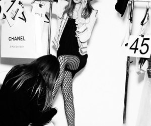 chanel and model image