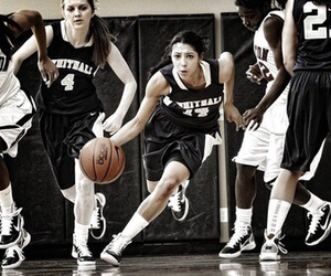 Basketball, game, and girl image