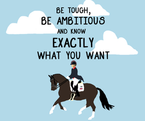 ambition, equestrian, and horse image