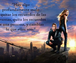divergente, frases, and quote image