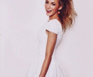 blake lively, gossip girl, and dress image