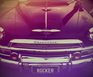 car, old, and rockabilly image
