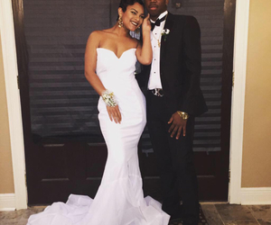 black and white, slay, and prom2015 image