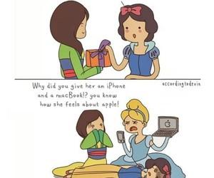 apple, mulan, and cinderella image