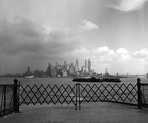 blanco y negro, photography, and new york image