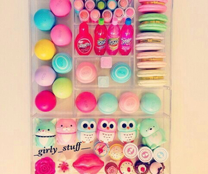 eos, makeup, and lips image