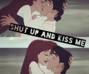 kiss, ariel, and love image