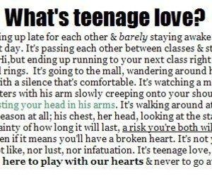 love, teenage, and teenage love image