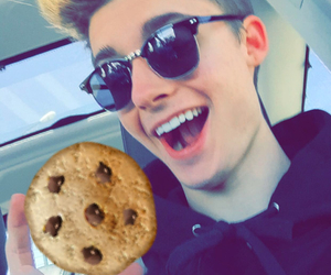 boys, chris collins, and Cookies image
