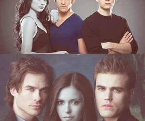 the vampire diaries and teen wolf image