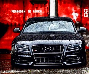 audi, black, and s5 image