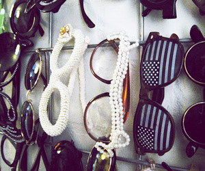 accessories, flag, and sunglasses image
