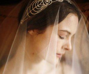 bride, fashion, and makeup image