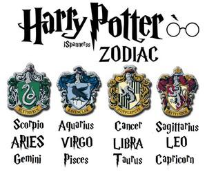 harry potter, zodiac, and slytherin image
