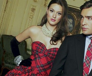 blair waldorf, couple, and gossip girl image