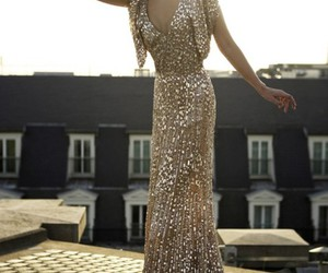 glitter, stunning, and dress image