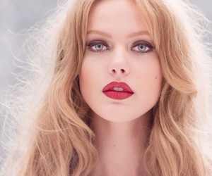 frida gustavsson, model, and blonde image