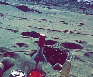 alcohol, beach, and drinks image
