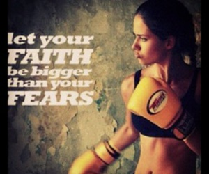 courage, fight, and faith image