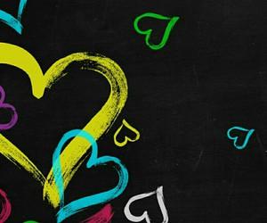 corazon, love, and hearts image