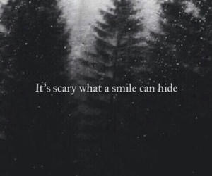 grunge, scary, and smile image