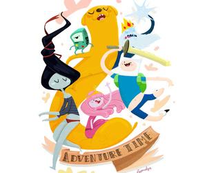 adventure time, cartoon, and marceline image