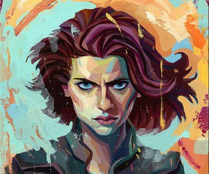 Avengers, black widow, and the avengers image
