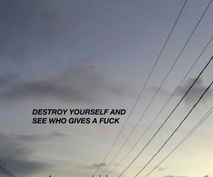 quotes, destroy, and grunge image