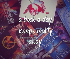 book, reading, and harry potter image