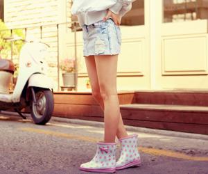 asian girl, fashion, and korean image