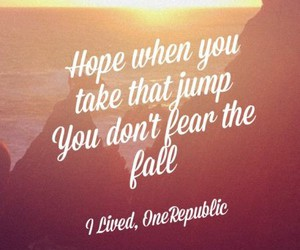 quotes, one republic, and i lived image