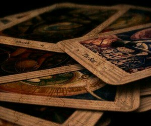 tarot, cards, and magic image