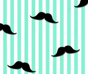 wallpaper and moustache image