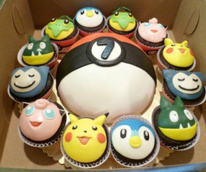 cupcakes and pokemon image
