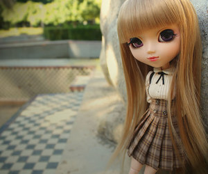 doll, school, and cute image