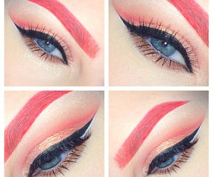 eye makeup, eyeshadow, and makeup image