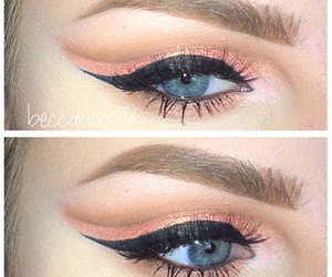 eye makeup, eyeshadow, and make up image
