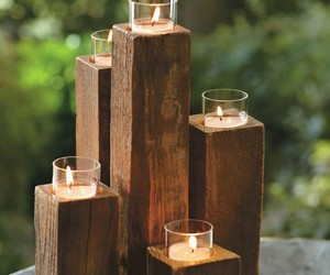 art, candle, and decor image