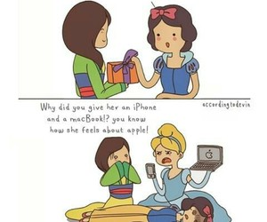 apple, mulan, and cinderella image