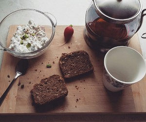 bread, spring, and breakfast image