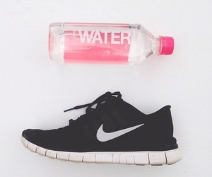 nike, water, and shoes image
