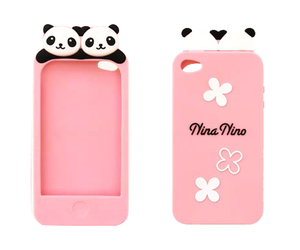 panda, case, and iphone image