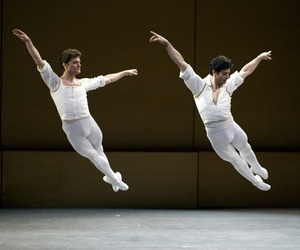 ballet and mans image
