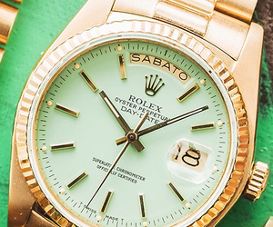 gold, watch, and clock image