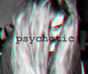 psychotic and girl image