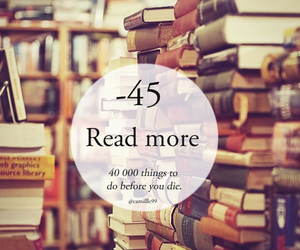 book, read, and things to do image