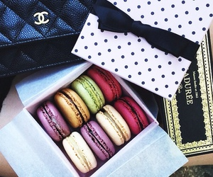chanel and macaroons image
