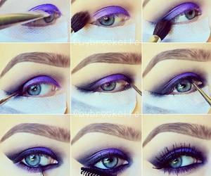 diy, eyeshadow, and make up image